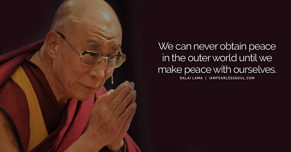 17 Dalai Lama Quotes on Peace, Kindness & Love