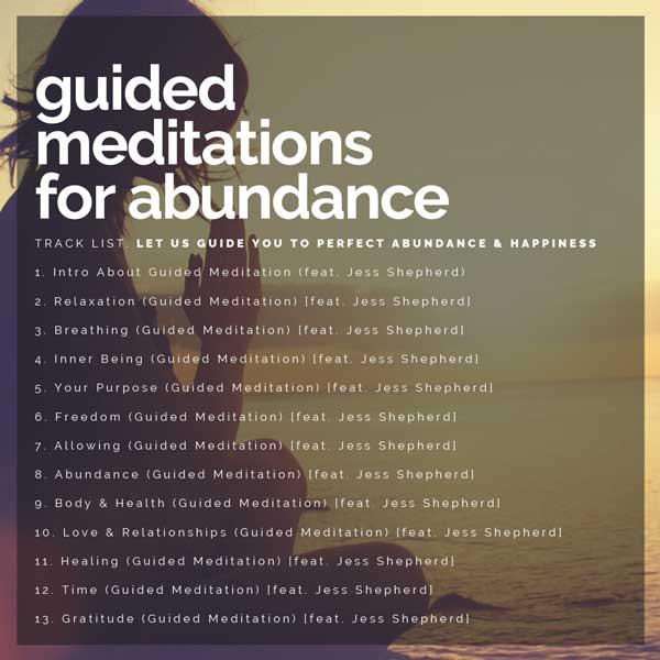 GUIDED MEDITATION ABUNDANCE