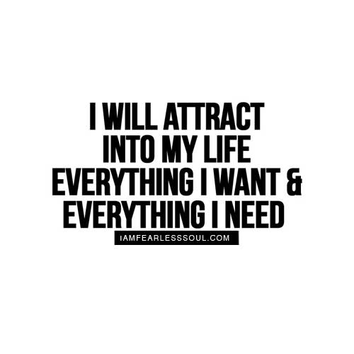 The law of attraction quotes