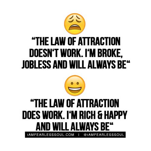 The law of attraction quotes meme
