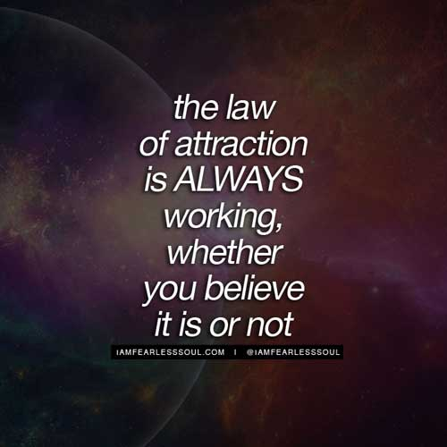 Laws Of Attraction Quotes Pleasing 25 Of The Best Law Of Attraction Quotes  In Pictures