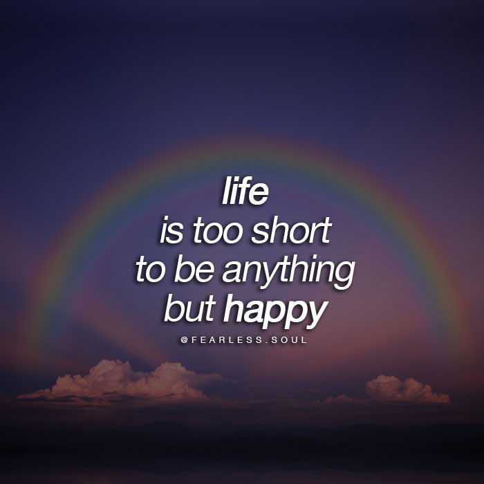 Marvelous Life Happy Quotes