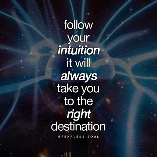 inspirational spiritual quotes intuition