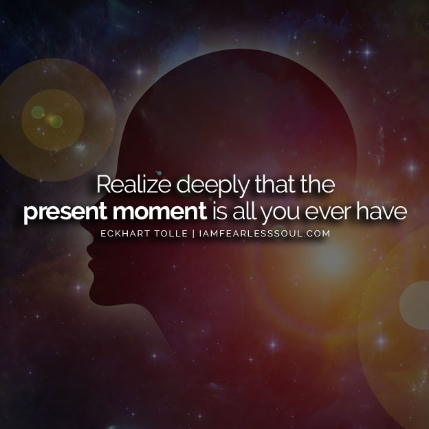 eckhart tolle present moment
