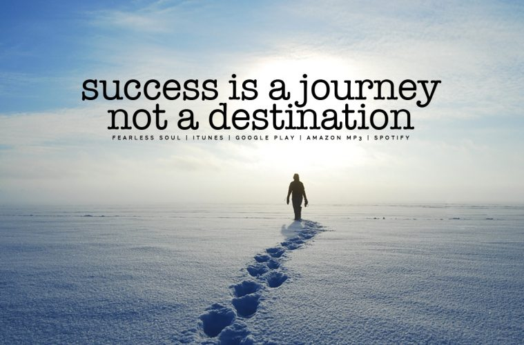 Success Is A Journey Not A Destination - Inspirational Speech