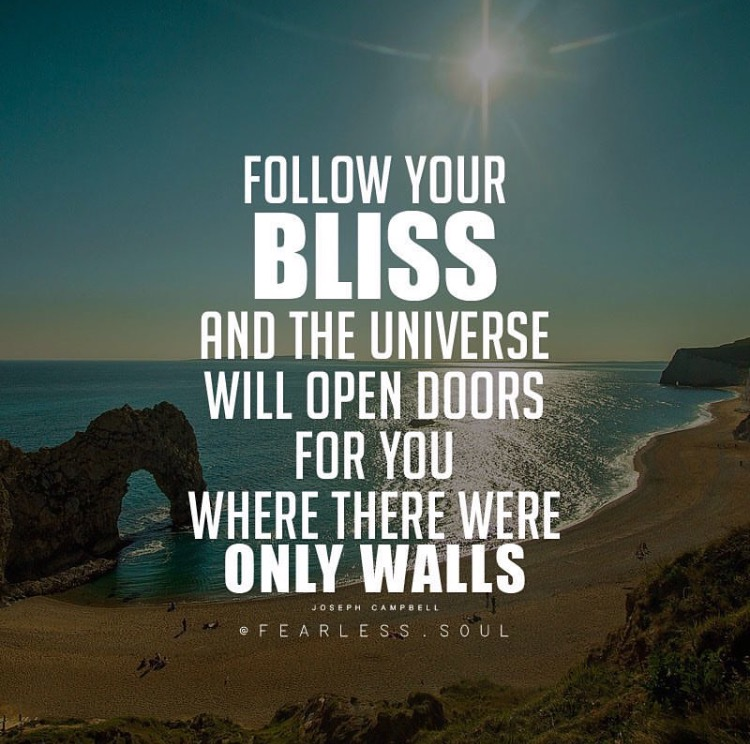 5  U201cFollow Your Bliss And The Universe Will Open Doors For You Where There  Were Only Walls.u201d U2015 Joseph Campbell U2013 Quotes On Faith Love And Hope