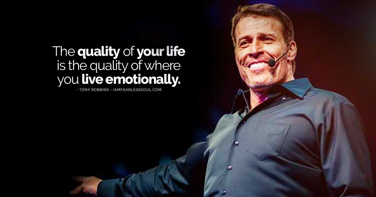 Tony Robbins How To Overcome Stress And Depression Video