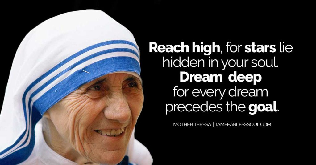 Brilliant Every Mother Teresa Quote Thatll Fill Your Heart With Love 15 Funny Birthday Cards Online Alyptdamsfinfo