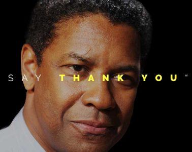 say thank you denzel washington