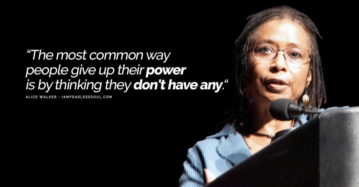 Alice Walker The Color Purple Quotes Racism Strong Black ...