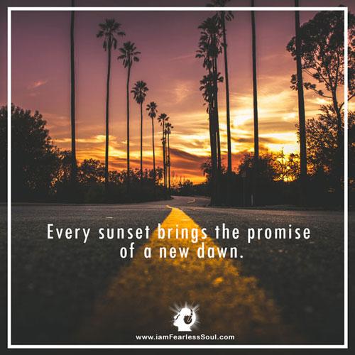 Every Sunset Inspirational