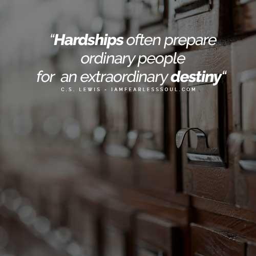 12 lessons life learning hardship