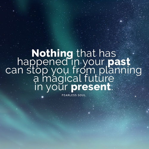Nothing in your past Inspirational
