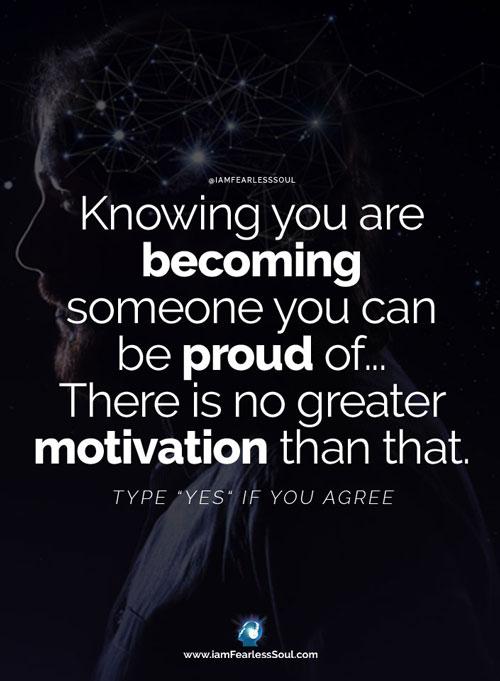 Proud Inspirational