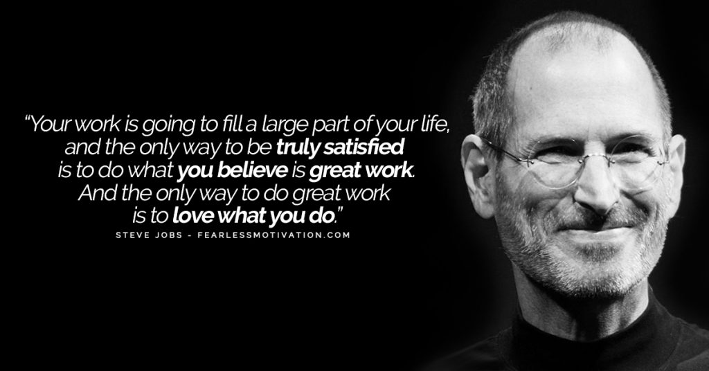 4 Signs You're Not Happy With Life (And What You Can Do About It) Steve Jobs Quote