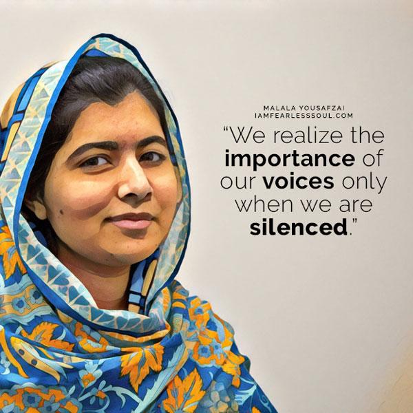 Malala Yousafzai Quotes | These 9 Malala Yousafzai Quotes Will Make You Fearless