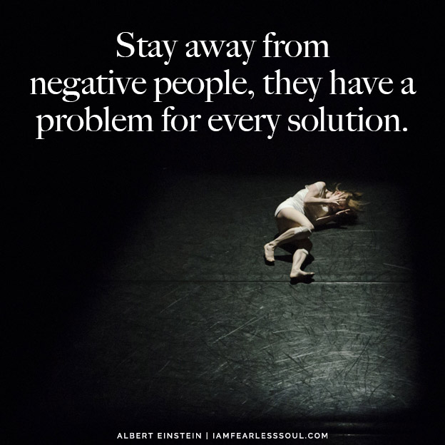 Feeling Stuck? How to Get Out of a Funk: 3 Ways to Be Unstoppable Stay away from negative people, they have a problem for every solution.