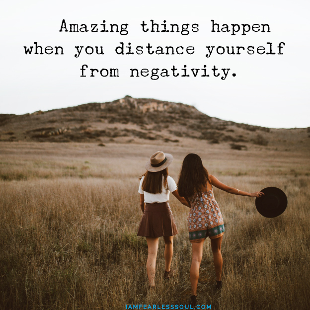 Advice to my younger self Amazing things happen when you distance yourself from negativity. The 10 Things About Life I Wish I Knew 10 Years Ago