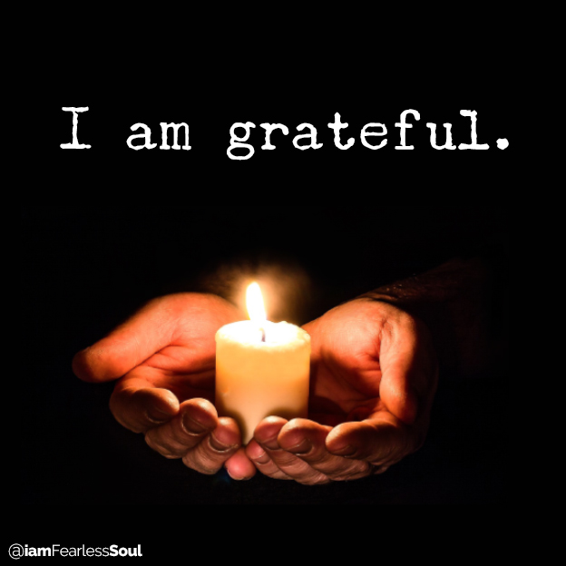 The 4 Beliefs That Attract Love and Unlimited Abundance I am grateful gratitude thankful appreciative happy satisfies fulfilled blessing fearless soul love abundant