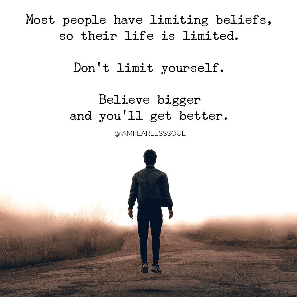 beliefs you must have