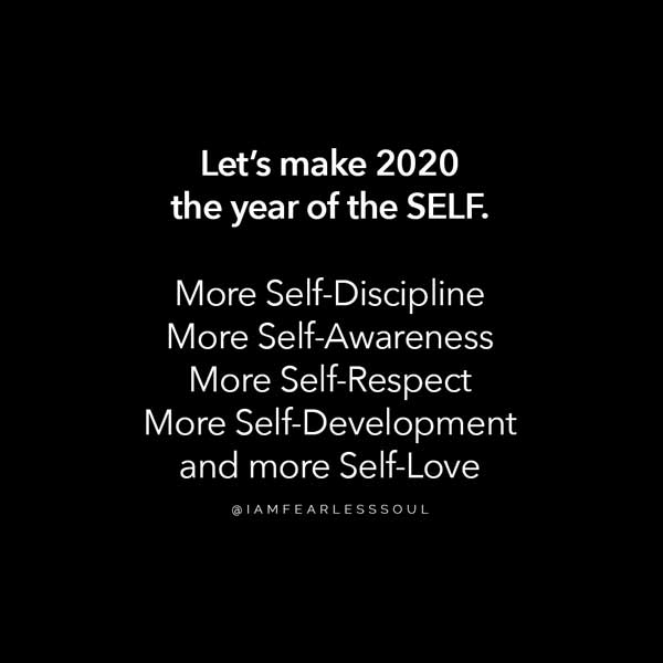 year of the self